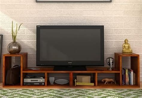 Tv Stand Wall Designs by Tv Units Buy Wooden Tv Unit Online Tv Stand Cabinet
