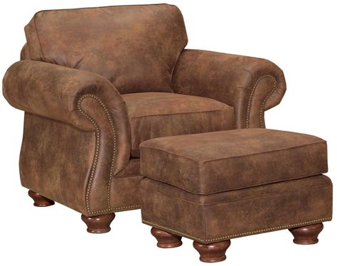 ottoman sts broyhill furniture laramie chair and ottoman set w nail