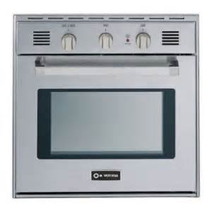 Top Kitchen Cabinet Brands by Verona Vebig24ss 24 Quot Single Gas Wall Oven In Stainless Steel