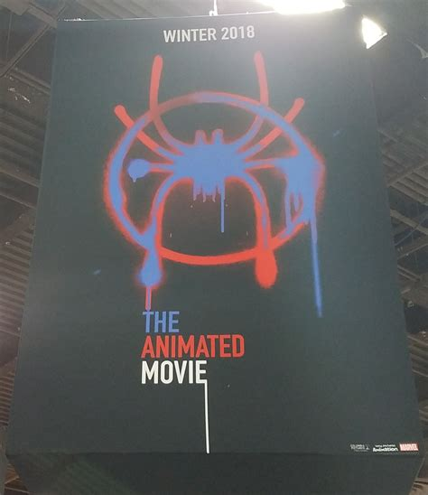 film cartoon spiderman spider man animated movie promotional posters spotted in