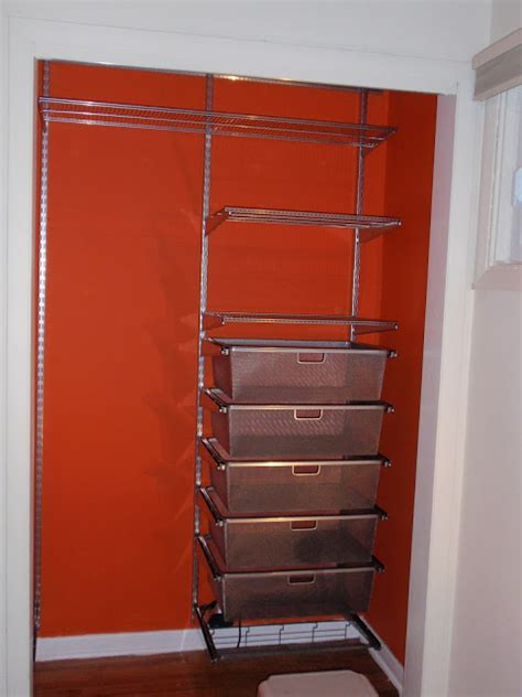 Saving Small Closet Spaces With Stainless Steel And Plastic Hanging Shoe Rack Storage The Diy By Design S Closet