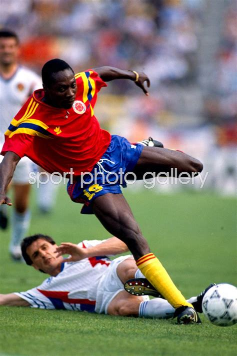 columbia card world cup freddy rincon columbia world cup 1990 acrylic posters