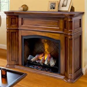 dimplex thompson burnished walnut electric fireplace