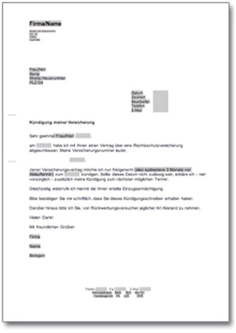 Kündigung Eigenbedarf Vorlage Schweiz K 252 Ndigung Rechtsschutzversicherung At Musterbrief