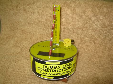 rf dummy load construction qrpme qrp in cans boxes and from scratch