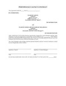 band booking contract template booking and manager contracts forms and