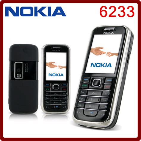Mmc Rsdv 64mb Original Nokia nokia 6233 3g cell phones original unlocked nokia 6233