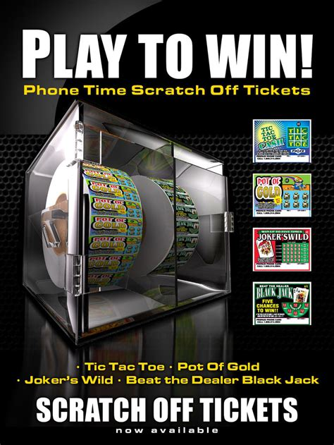 Phone Sweepstakes - scratch off cards phone card sweepstakes