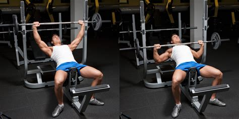 best angle for incline bench press barbell incline bench press weight training exercises 4 you