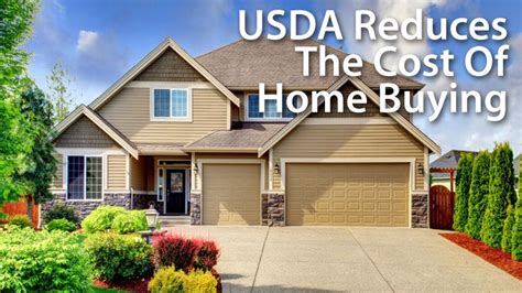 buying a house with a guarantor usda slashes homeownership costs for its 100 mortgage
