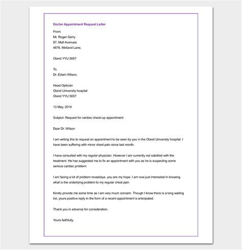 Appointment Letter Mail Appointment Letter Request Mail 28 Images Request For