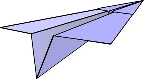 Paper Airplane - clipart paper airplane