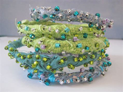 Giveaway Fabric - alma stoller giveaway fabric bracelets