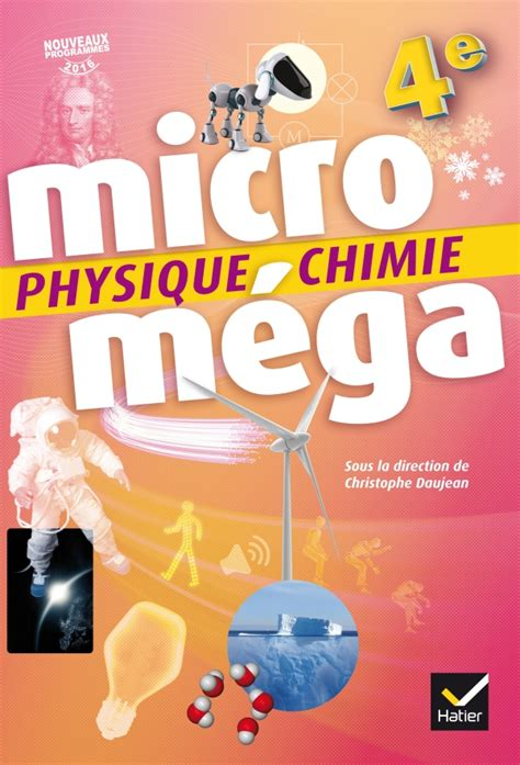 libro physique chimie cycle 4 microm 233 ga physique chimie 4e 201 d 2017 livre 233 l 232 ve editions hatier