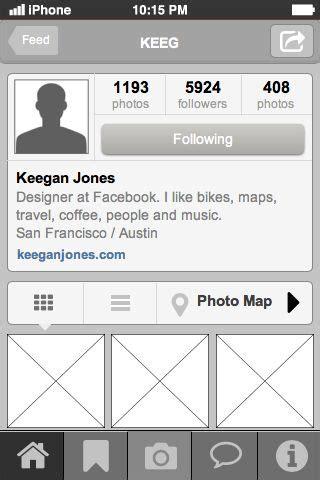 design instagram profile instagram profile page mobile ui design pattern good for
