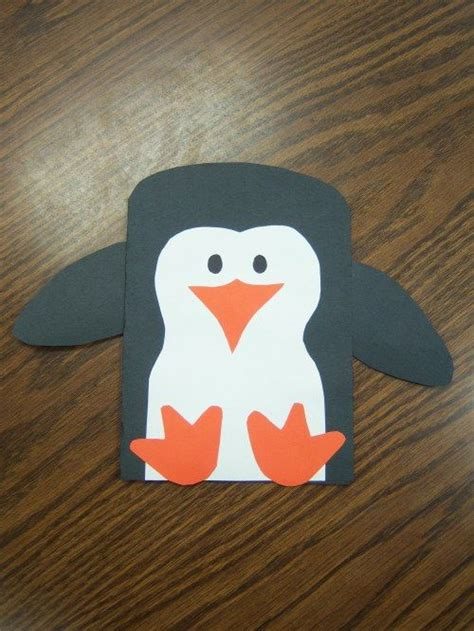 penguin craft projects penguin craft project for winter animal theme jan