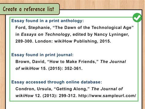 ways  cite  essay wikihow