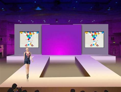 how to design a backdrop for the stage aluminu fashion show catwalk stage with backdrop buy