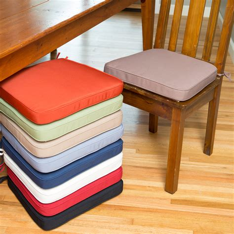 dining room chair pads and cushions deauville 18x16 5 in dining chair cushion dining chair