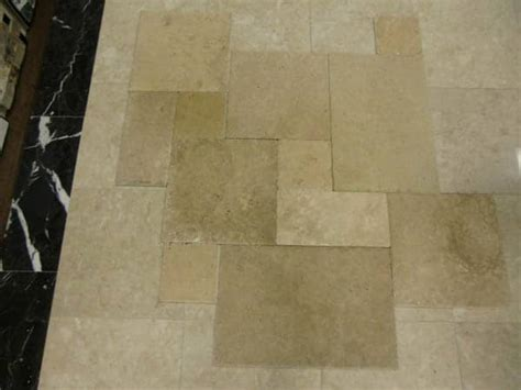 versailles pattern vinyl light walnut travertine tile versailles pattern in katy
