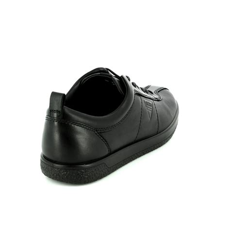 Black Soft 1 ecco soft 1 400503 01001 black lacing shoes