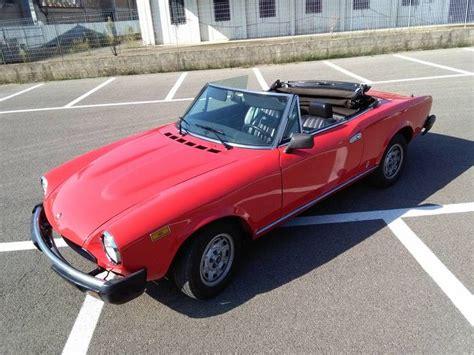 Garage Pour Voiture 6132 by Fiat 124 Spider 2 0 1979 Catawiki