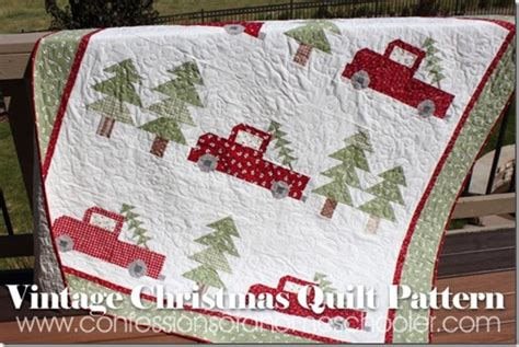 free printable christmas quilt patterns vintage christmas quilt pattern confessions of a