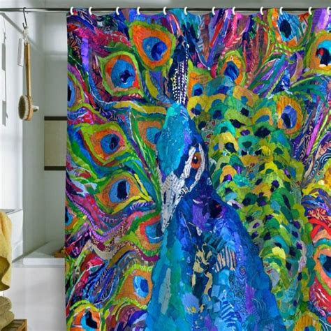 colorful bathroom decor colorful shower curtains 2015 2016 fashion trends 2016 2017
