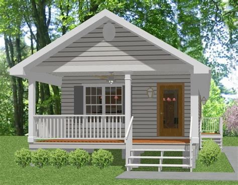 small mother in law house complete house plans 648 s f mother in law cottage