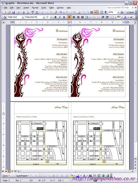 free wedding directions card template diy enclosure card 171 adorkable duo wedding