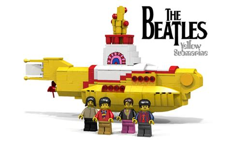 Beatles Yellow Submarine Lava L by We All Live In Lego Dreamland New Set Features The