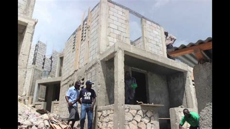 how to build a new home j p hro re building haiti youtube