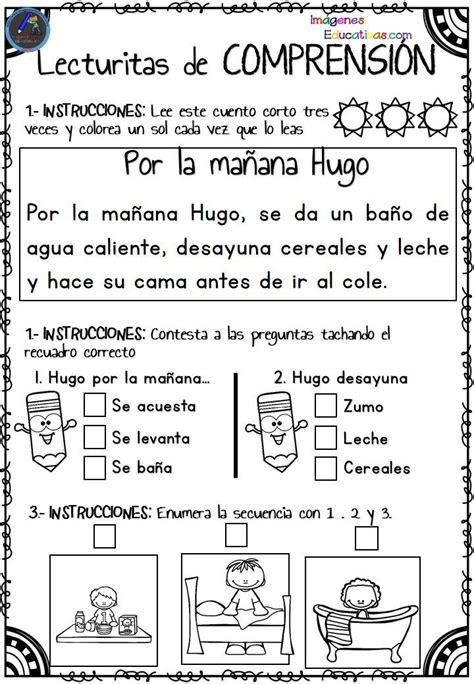 preguntas de comprension en ingles lecturitas de comprensi 243 n para infantil y primer ciclo de