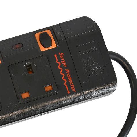 Multi Adaptor 3 way adapter mains adaptor cable multi socket