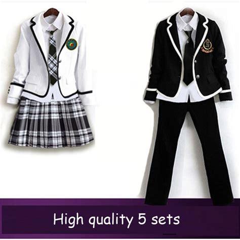 Setelan Baju Cewek Korea 2in1 Dress Jaket Limited Stok inggris korea jepang seragam sekolah pria dan wanita musim dingin pakaian untuk uniforme escolar