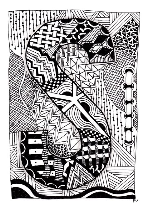 zentangle pattern tribe the week of the zentangle zentangles easy zentangle