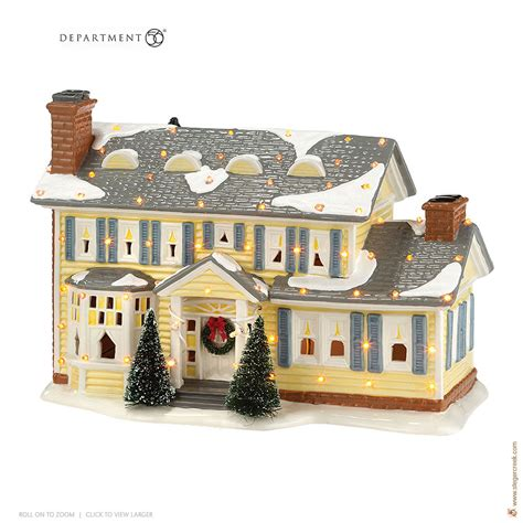 christmas vacation house department56 national loon s christmas vacation the griswold holiday house