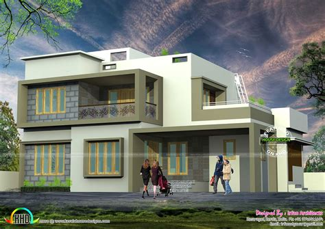 simple modern house very simple modern house architecture kerala home design