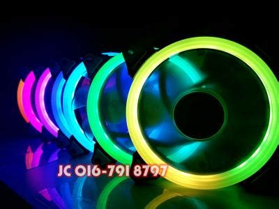 Aigo Fan Rainbow Led Fan wts aigo hue rainbow rgb fan limited