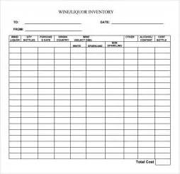 Liquor Inventory Template liquor inventory template 7 free documents in