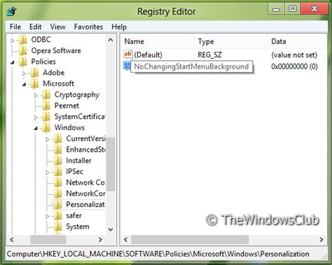 wallpaper regedit windows 8 1 disable change start screen background option in windows 8