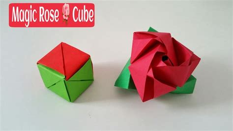 How To Make A Paper Moving Cube - 17 best images about vouwen on origami