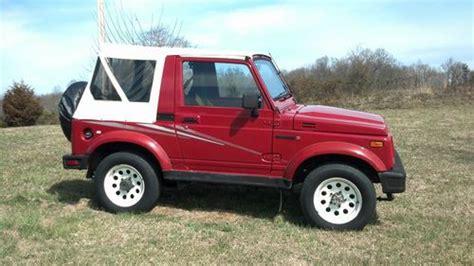 auto body repair training 1991 suzuki sidekick engine control buy used 1991 suzuki samurai jl in telford tennessee united states