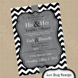 couples bridal shower invitations templates printable gray themed couples shower or bridal by luvbugdesign