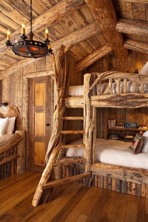 Rustic Loft Bed by How To Design A Rustic Bedroom That Draws You In