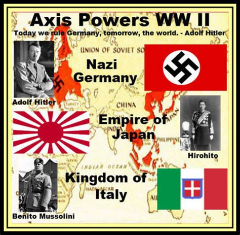 Teh Asix axis powers in world war ii