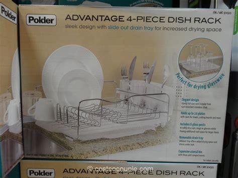 Dish Rack Costco by Polder Advantage Dish Rack