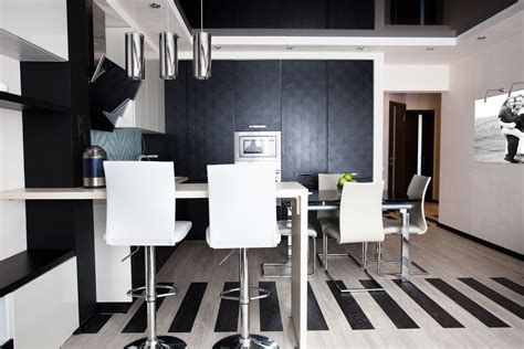 High Tech Style Interior Design by Picture Kitchen High Tech Style Interior Chairs Design