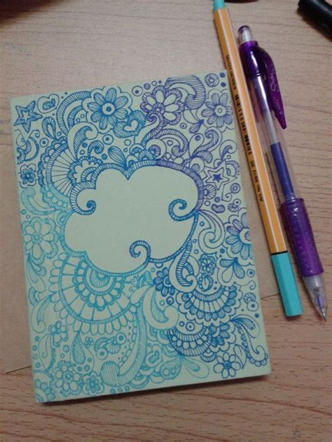 doodle notebook ideas doodle for diy notebook cover my work
