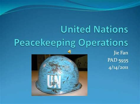 powerpoint templates united nations united nations peacekeeping operations authorstream